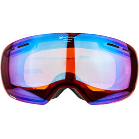 Alpina Granby Quattroflex Mirror S2 - Gafas de esquí - azul/negro